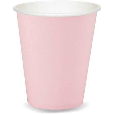 Classic Pink Cups, 9 oz, Pack of 24 for $<!---->