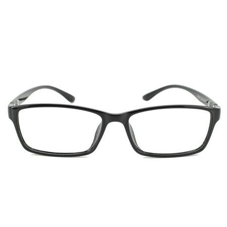 a5679226e984 Eye Buy Express Prescription Glasses Mens Womens Black Bold Rectangular  Trendy Reading Glasses Anti Glare grade