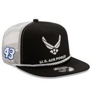 Erik Jones New Era Golfer Snapback Adjustable Hat - Black/White - OSFA