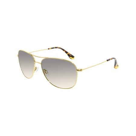 59cf96feea989 Maui Jim - Maui Jim Men s Gradient Cliff House HS247-16 Gold Aviator  Sunglasses - Walmart.com