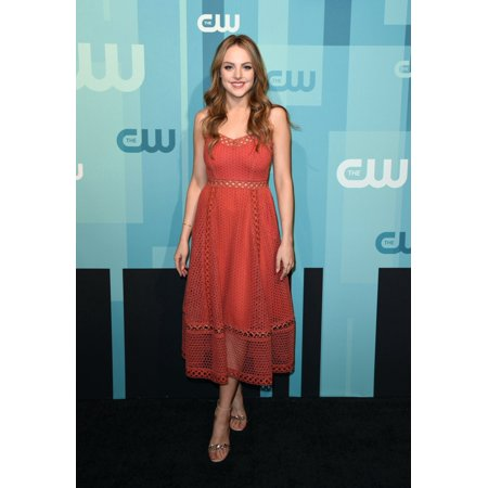 Elizabeth Gillies At Arrivals For The Cw Upfront 2017 The London Hotel New York Ny May 18 2017 Photo By Derek StormEverett Collection Celebrity