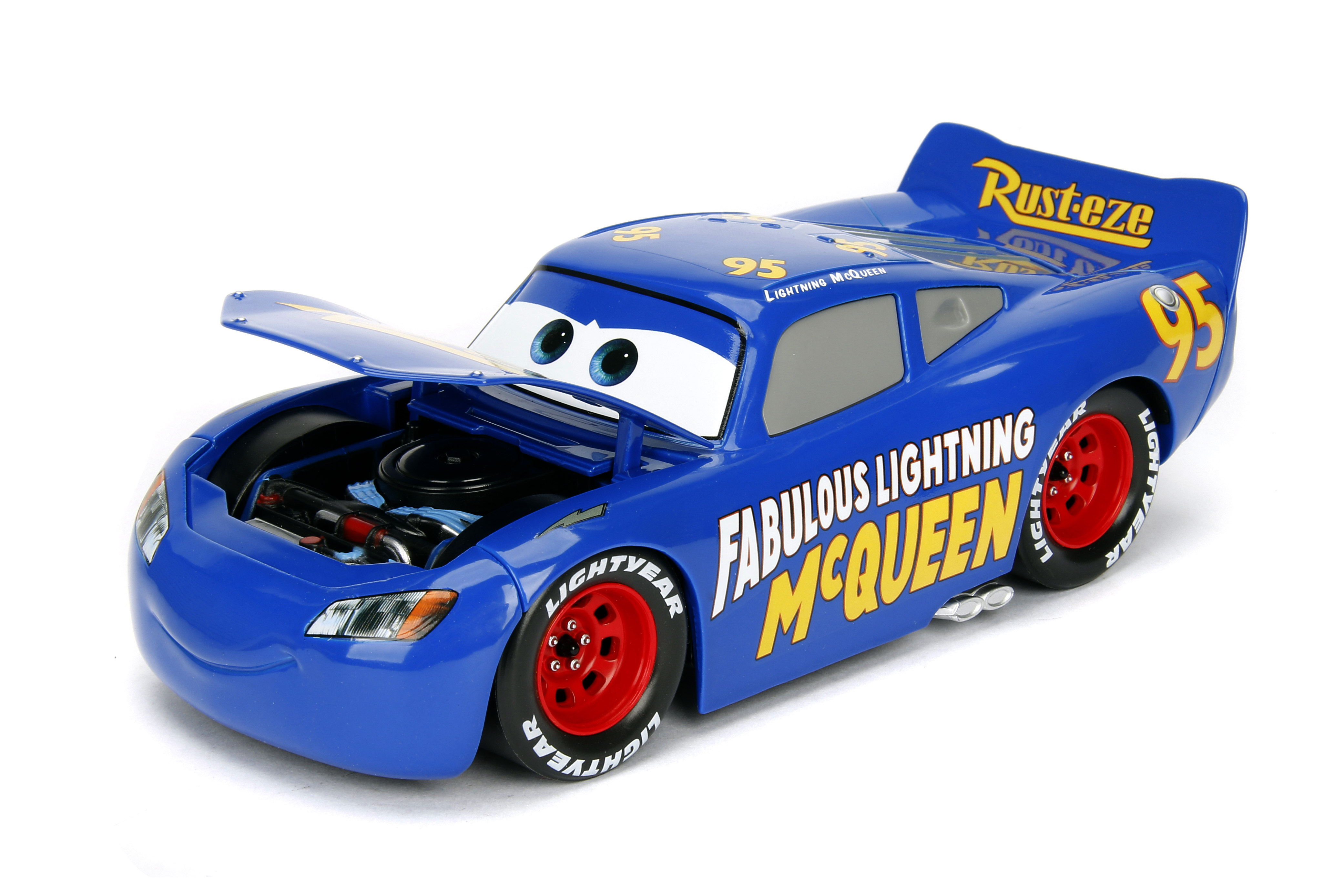 FABULOUS LIGHTNING MCQUEEN 1:24 disney pixar cars NEW diecast metal jada toys