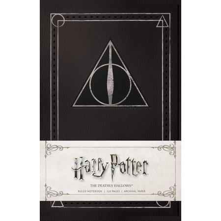 Harry Potter: The Deathly Hallows Ruled Notebook (Deathly Hallows Pumpkin)