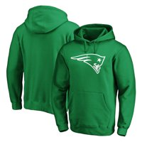 New England Patriots NFL Pro Line by Fanatics Branded Logo St. Patrick's Day Pullover Hoodie - Kelly Green