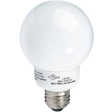 Cfl Vanity Light Bulbs : Earthtronics GT09SW1BIS 9-Watt Vanity CFL bulb - Walmart.com