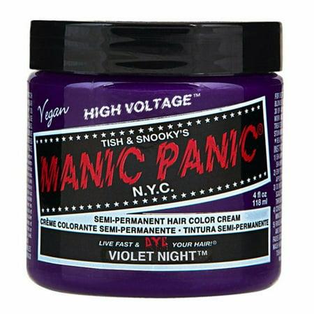 Violet Night Purple Manic Panic Vegan 4 Oz Hair Dye (Best Men's Hair Color 2019)