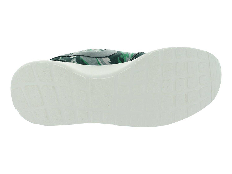 Nike Men's Rosherun GPX sz 8 Vintage Green Gamma Tiger Stripes