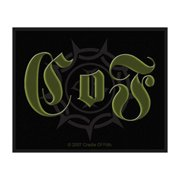 Cradle Of Filth Men's Woven Patch Black