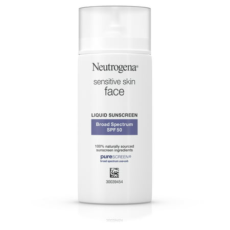 Neutrogena Face Sunscreen for Sensitive Skin SPF 50, 1.4 fl. oz Sun Face Balm