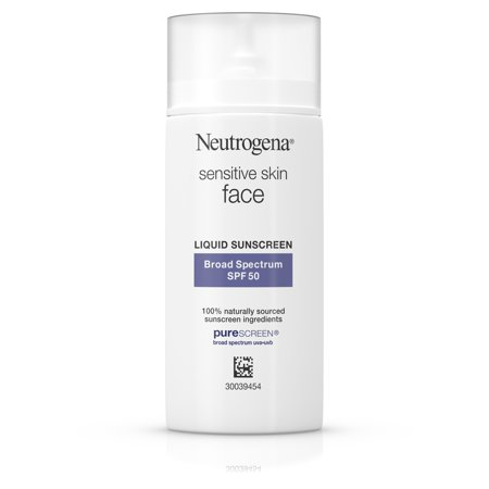 Neutrogena Face Sunscreen for Sensitive Skin SPF 50, 1.4 fl.