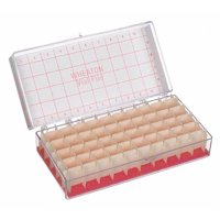 WHEATON 228780 Vial Store Case,Holds 40 Test Tubes,PK6