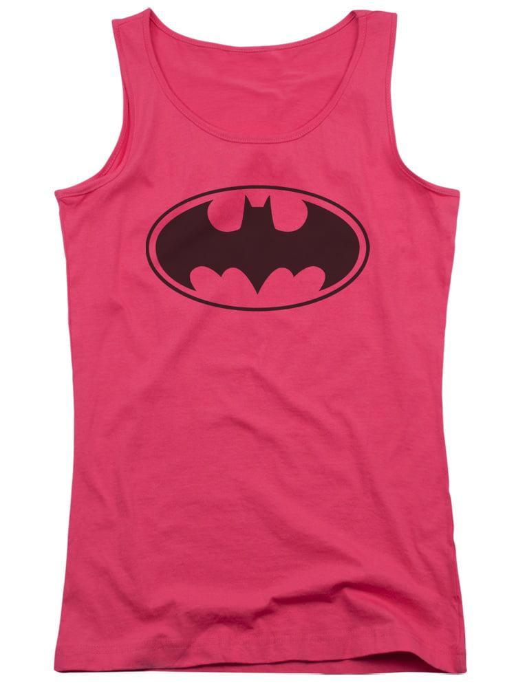 Batman Black Bat Juniors Tank Top Shirt