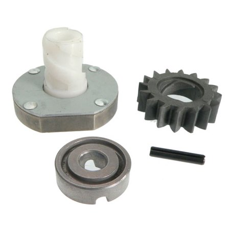 DB Electrical SBS5001 Briggs Starter For Drive Assembly 16 Tooth Plastic Gear With Clutch 391461 (8HP) Mower Lawn Tractor 68 100 108 John Deere 13HP 15HP 16HP 20HP 22HP Toro 11hp 1975-1987 ()
