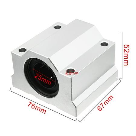 SCS25 Linear Motion Bearings 67x52x76mm Slide Bushing Block - image 1 of 6