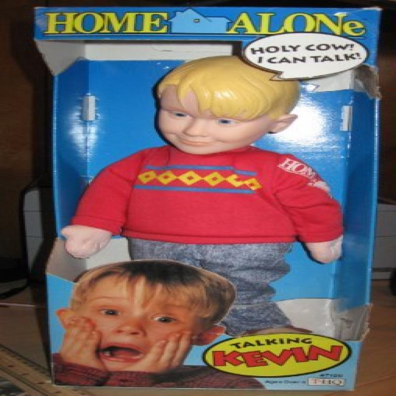 "THQ 18"" Home Alone Talking Kevin Pull-String Doll (1991)"