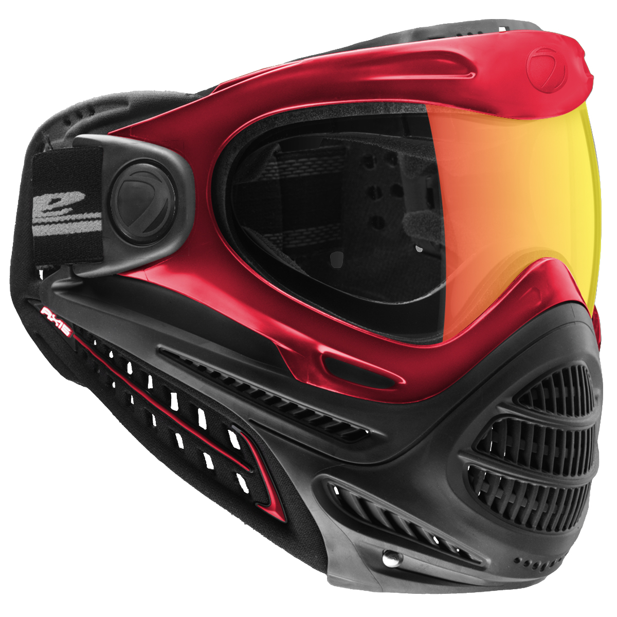 Dye Axis Pro Goggles w/ Thermal Lens - Red Bronze Fire