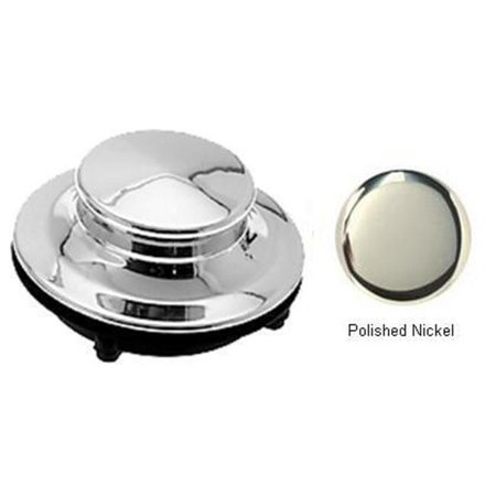 Cleaning Polished Nickel (Westbrass D211-05 Waste King Disposal Stopper - Polished Nickel)