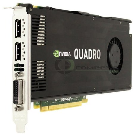 Nvidia Quadro K4000 3GB GDDR5 PCIe x16 Dual DisplayPort DVI-I GK104 Video Graphics Card GPU 900-52033-0000-000