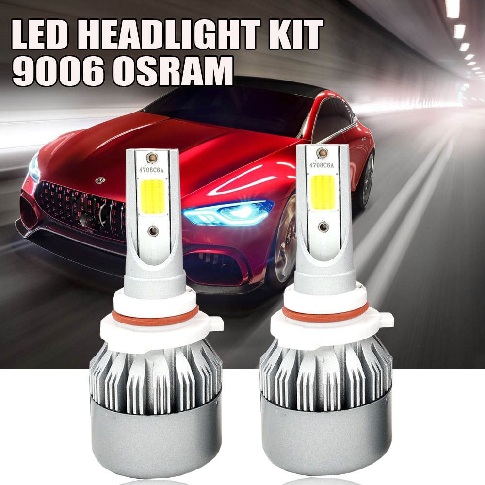 Osram LED Headlight Kit 9006 HB4 9012 1080W 6000K 162000LM Fog Bulb Power VS HID