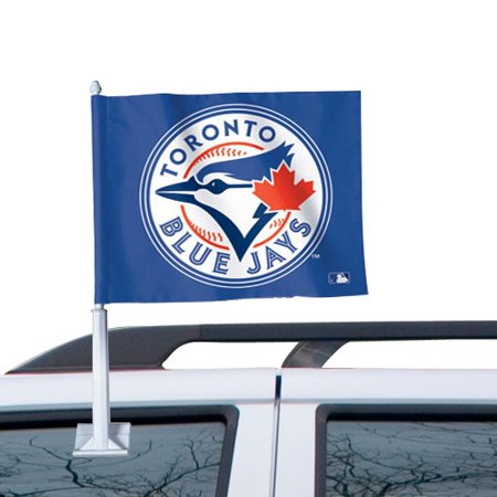 WinCraft Toronto Blue Jays 11'' x 13'' Two-Sided Car Flag - Royal Blue - No Size