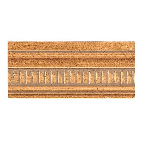 - Picture Frame Moulding (Wood) - Traditional Antique Gold Finish - 1