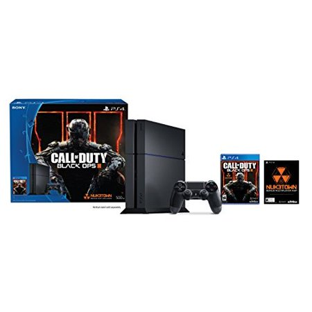 6f93342560fc8 Refurbished PlayStation 4 500GB Console Call Of Duty Black Ops III Bundle  COD - Walmart.com