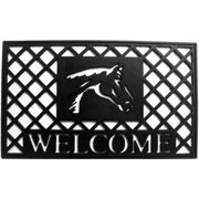 Momentum Mats Natural Rubber 18x30-inch Stallion Door Mat