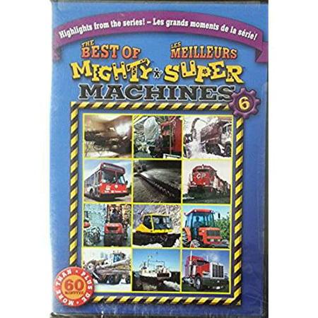 BEST OF MIGHTY MACHINES VOLUME 6 (BILINGUAL) [DVD] - image 1 de 1