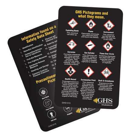 Wallet Card Wallet Card, Ghs Safety, GHS1015