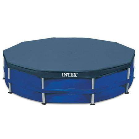 Intex Metal Frame Swimming Pool Cover for 15-Foot Metal Frame Pools - Pool Accessories Walmart