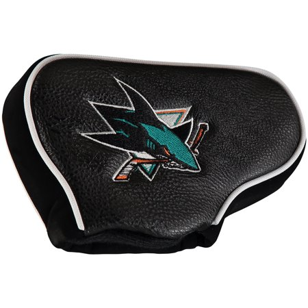 team golf nhl san jose sharks golf club blade putter headcover, fits most blade putters, scotty cameron, taylormade, odyssey, titleist, ping,