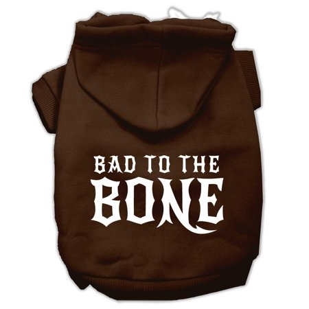 Bad to the Bone Dog Pet Hoodies Brown Size XS (8) A poly/cotton sleeved hoodie for cold weather days, double stitched in all the right places for comfort and durability!Product Summary : New Pet Products/Screen Print Hoodies/Bad to the Bone Dog Pet Hoodies@Pet Apparel/Dog Hoodies/Screen Print Hoodies/Bad to the Bone Dog Pet Hoodies@Pet Apparel/Dog Hoodies/Screen Print Hoodies COPY/Bad to the Bone Dog Pet Hoodies