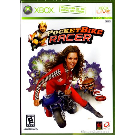 Microsoft Xbox 360 Burger King - Pocket Bike Racer Game (Halloween Kings Game)