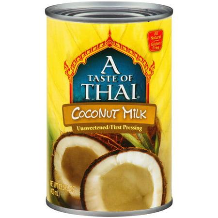 Thai Kitchen Organic Milk ((4 Pack) A Taste of Thai Coconut Milk, 13.5 fl oz)