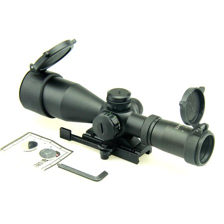 Tactical 2.5-10x40 CQB Scope, R/G ILL. Mil-Dot, Quick