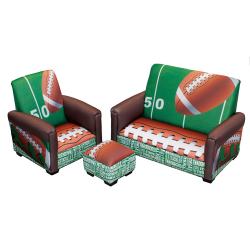 Newco International Toddler Sofa, Chair and Ottoman Set, Multiple Colors