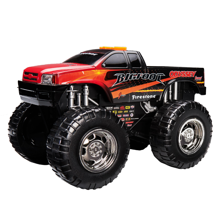 Adventure Wheels Wheel Standers Motorized Vehicle, Bigfoot, Black