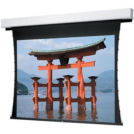 Da Lite Dual Vision 226   Diagonal Tensioned Large Advantage Deluxe Electrol Wide Format Projector Screen