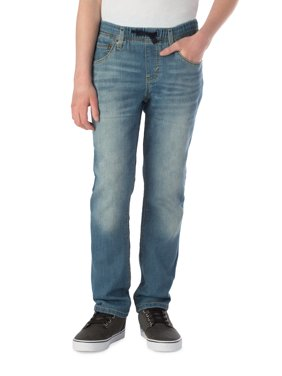 Signature by Levi Strauss & Co. Boys Athletic Pull On Jeans, Sizes 4-16 & Husky