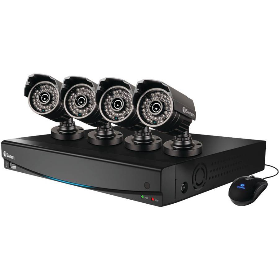 Swann Security Products DVR4-3425 4 Channel 960H Digital Video Recorder & 4 x PRO-735 Cameras SWDVK-434254S-US