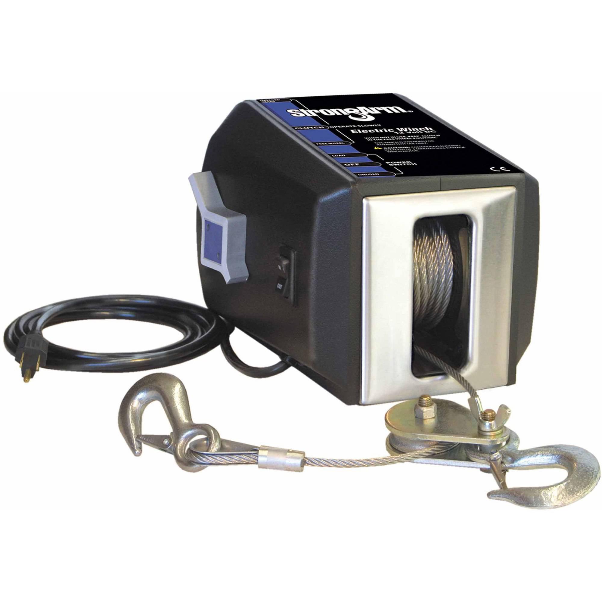 Dutton-Lainson 24876 StrongArm SA Series Electric Winch, 120V, 4000 lb