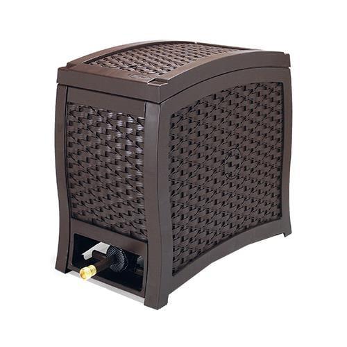 Suncast RSW125 125-Ft. Wicker Touch & Go Hydro Power Auto-Rewind Hose Reel by Suncast Corp