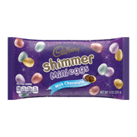 Cadbury, Easter Shimmer Milk Chocolate Mini Eggs Candy, 9 Oz
