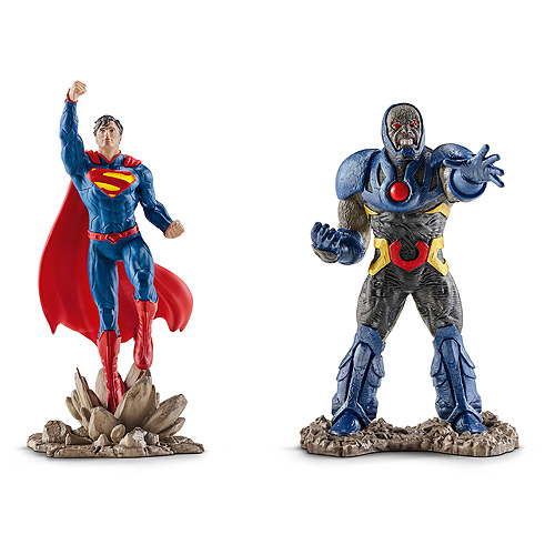 Schleich Superman vs. Darkseid Scenery Pack