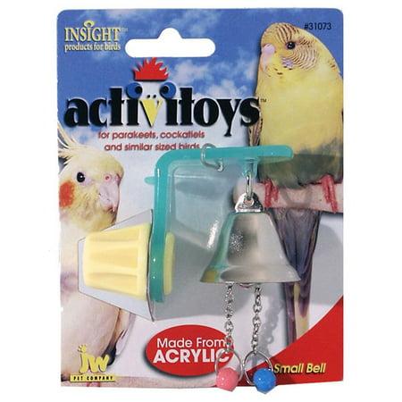 JW Pet Company Activitoys Bell Bird Toy, Small JW Pet Company Activitoys Bell Bird Toy, Small