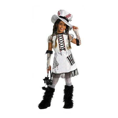 White Monster Bride Girls Child Halloween Costume, One Size, Medium (7-8)](Monster Bride Halloween Makeup)
