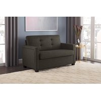 Miraculous Walmart 57 Loveseat Sofa Sleeper Mainstays 54 Faux Leather Andrewgaddart Wooden Chair Designs For Living Room Andrewgaddartcom