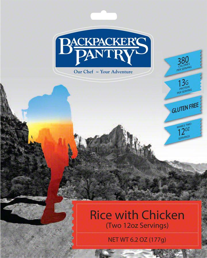 Backpacker's Pantry Rice with Chicken: 2 Servings by Backpacker's Pantry