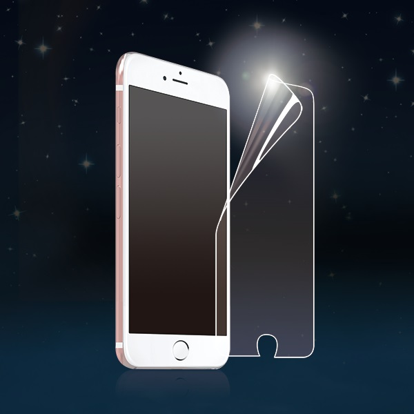 PQI Protective Film for iPhone 6 / 6s - Glossy Blue Light Cut