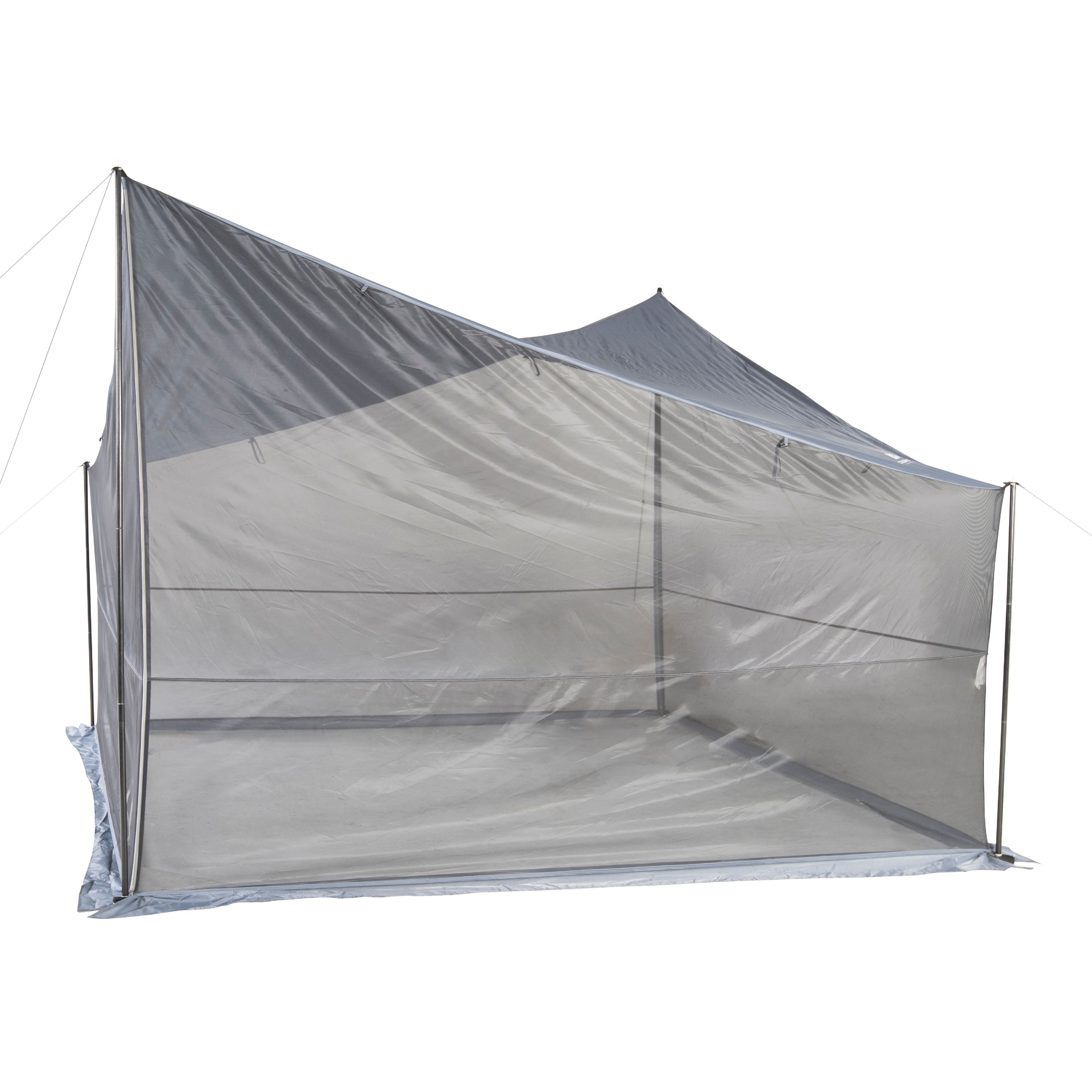 Ozark Trail Tarp Shelter with UV Protection and Roll-up Screen Walls - Walmart.com